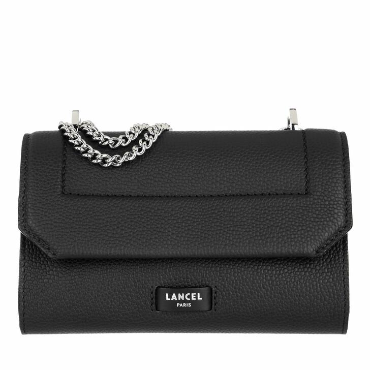 bags, Lancel, Flap Bag Xs Black