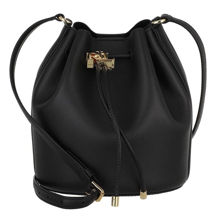 Handtasche, Lauren Ralph Lauren, Andie 19 Drawstring Medium Black
