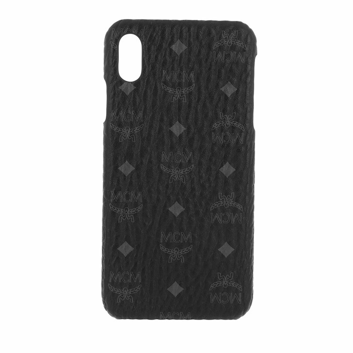 smart_cases, MCM, Vis Original iPhone Case XS Max Black