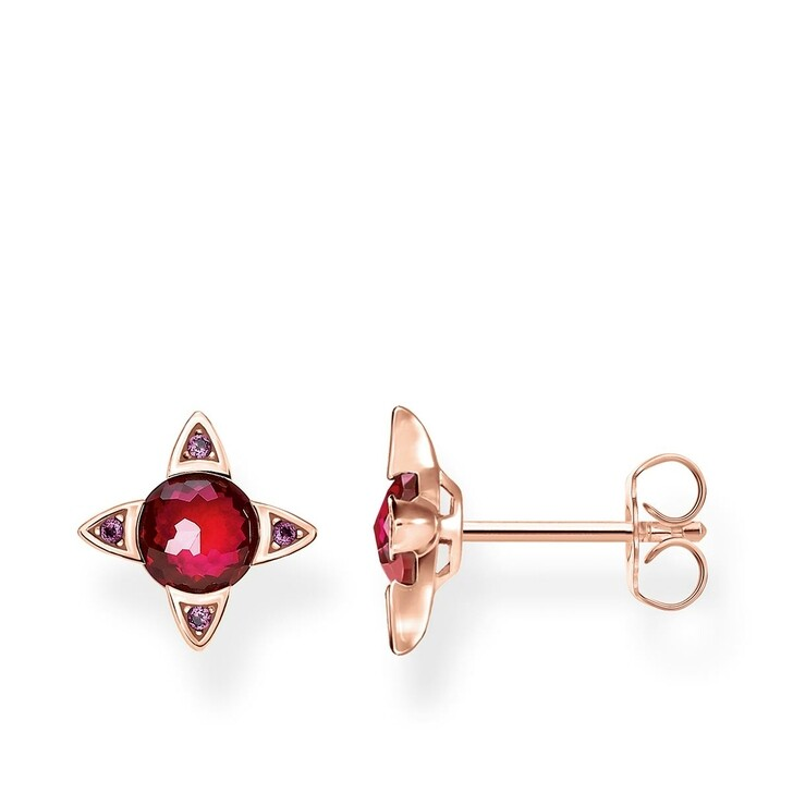 Ohrring, Thomas Sabo, Earrings Colored Stones Rosegold