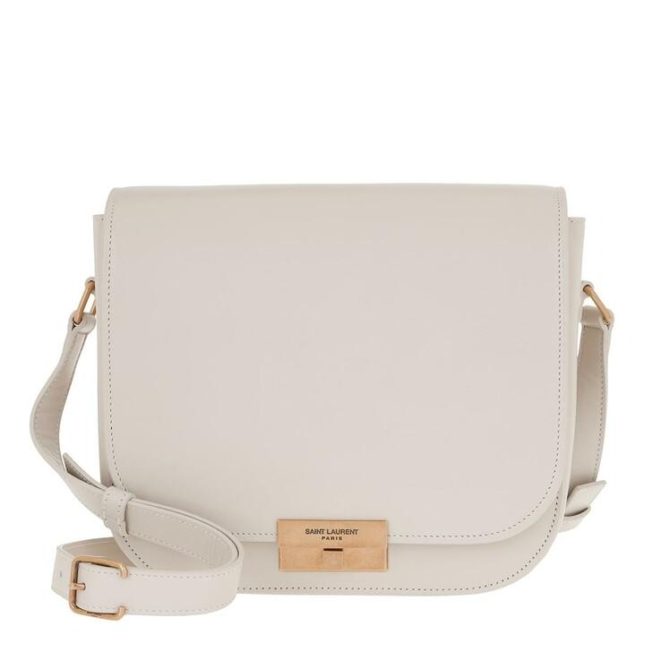 Handtasche, Saint Laurent, Betty Crossbody Bag Crema Soft
