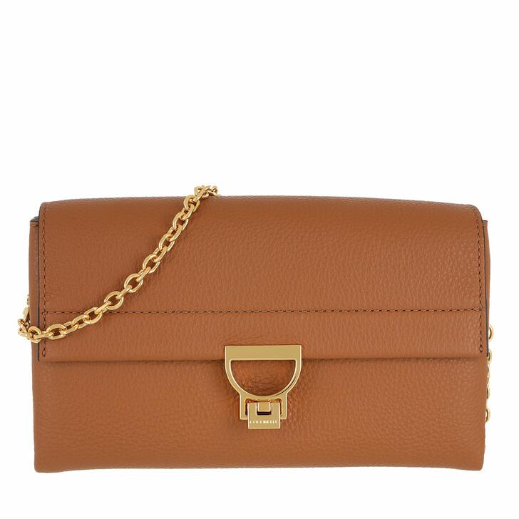 Handtasche, Coccinelle, Arlettis Crossbody Bag Caramel