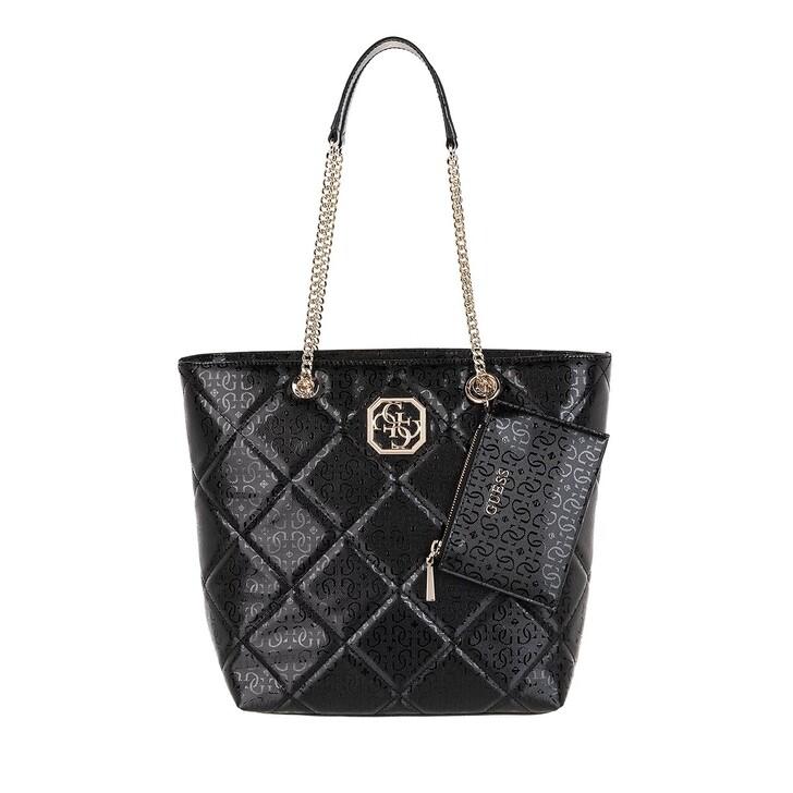 Handtasche, Guess, Dilla Society Carryall Black