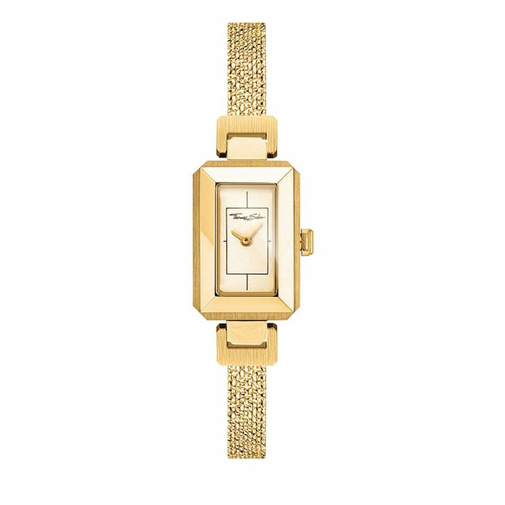 """watches, Thomas Sabo, Women's Watch """"Mini Vintage"""" Yellow Gold"""