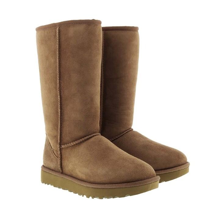 Schuh, UGG, W Classic Tall II Chestnut