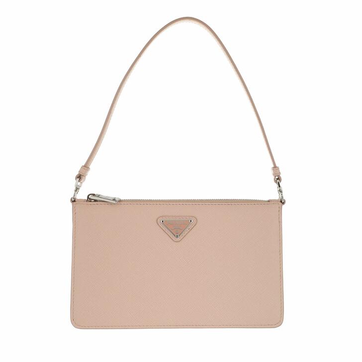 bags, Prada, Mini Saffiano Satchel Bag Pink