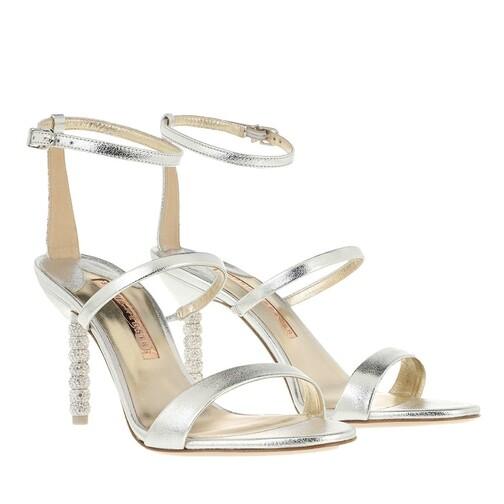 sophia webster -  Pumps & High Heels - Rosalind Crystal Mid Sandal - in silber - für Damen