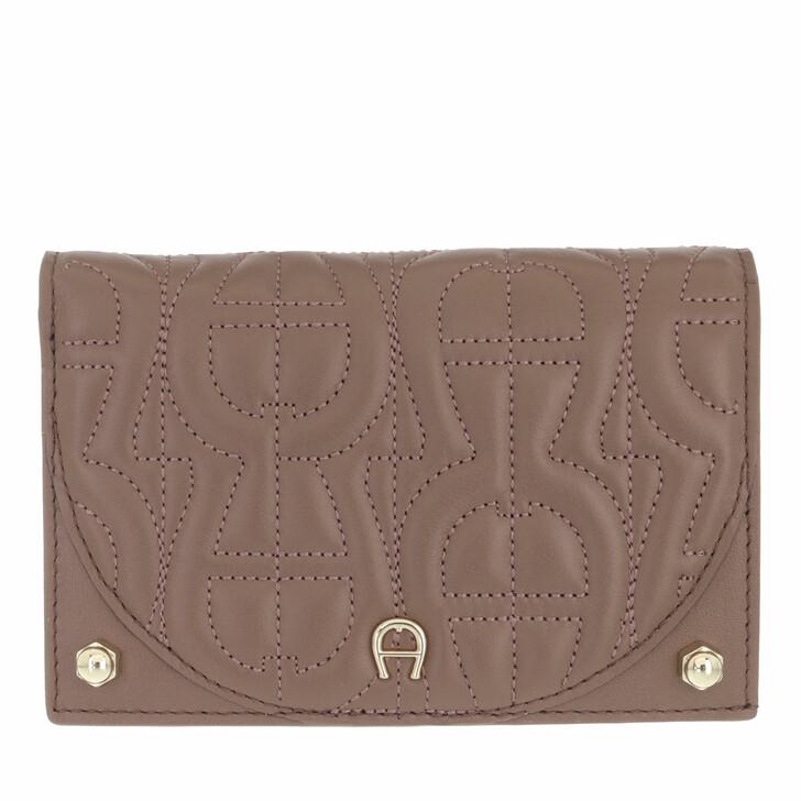 wallets, AIGNER, Diadora Wallet Mushroom Brown