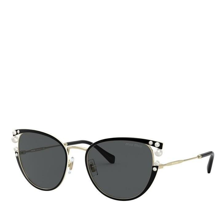 sunglasses, Miu Miu, METALL WOMEN SONNE BLACK