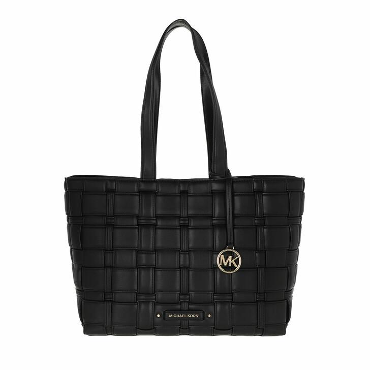 bags, MICHAEL Michael Kors, Medium Ew Tote Black