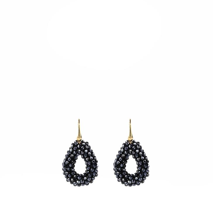 Ohrring, LOTT.gioielli, CE Glassberry Drop Earring XS Gold