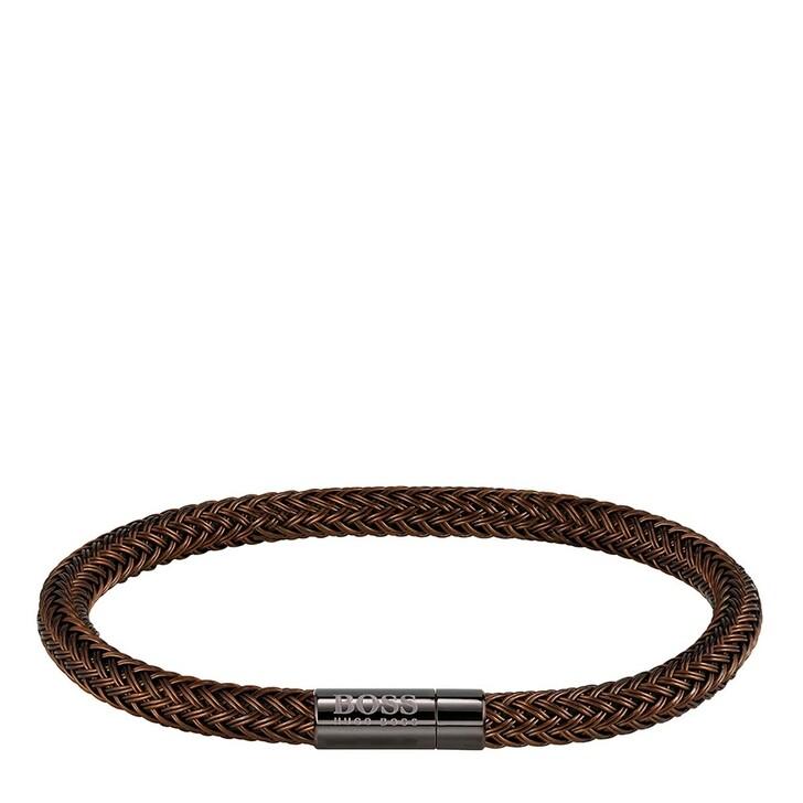 bracelets, Boss, Rope Bracelet Brown