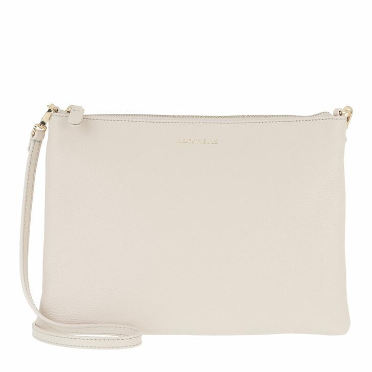 Handtasche, Coccinelle, Best Crossbody Bag Lambskin White
