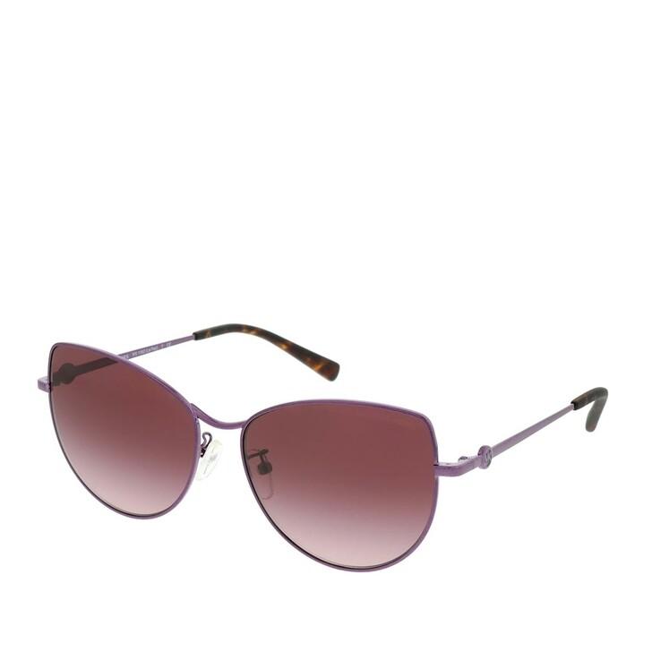 Sonnenbrille, Michael Kors, 0MK1062 11588H Woman Sunglasses Sport Luxe Chic Plum