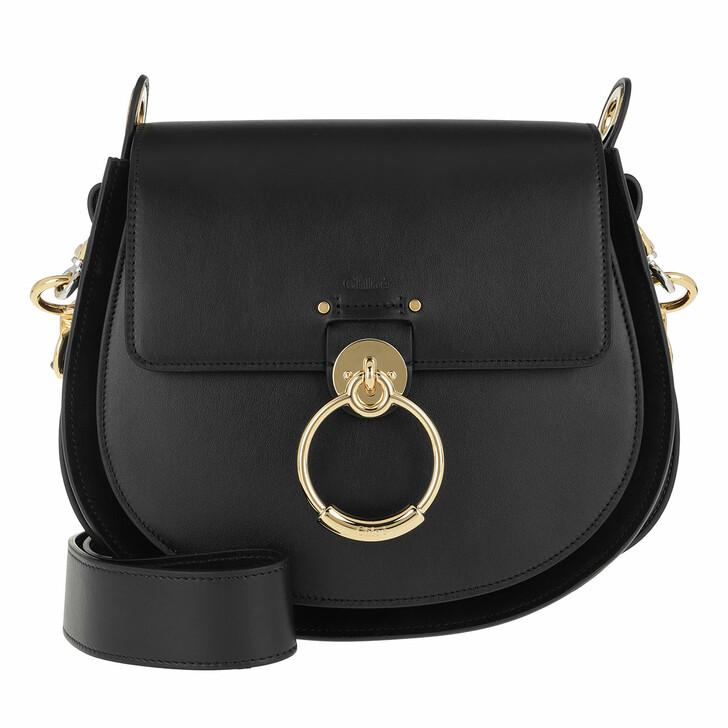 Handtasche, Chloé, Tess Shoulder Bag Black