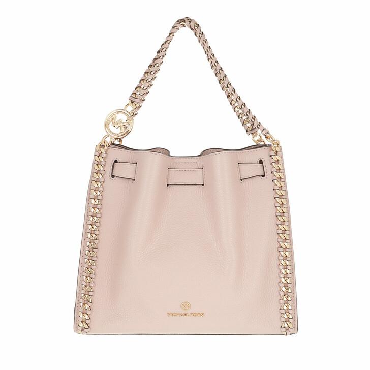 bags, MICHAEL Michael Kors, Medium Chain Conv  Soft Pink