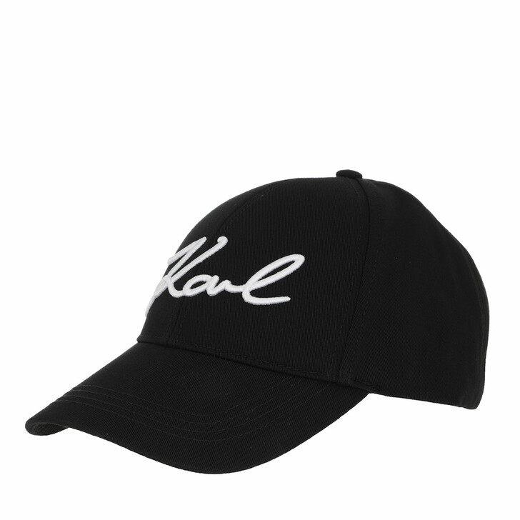 Schal, Karl Lagerfeld, Karl Signature Cap Black