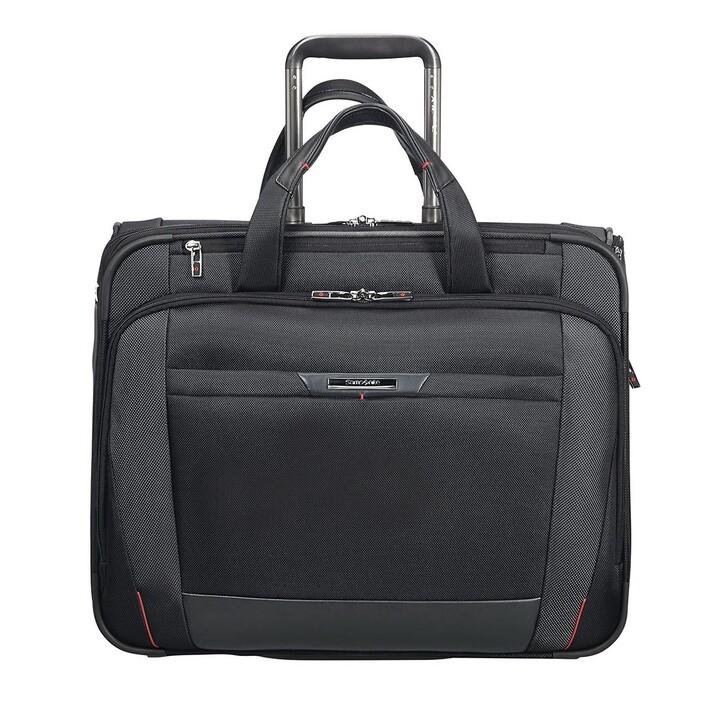 "Handtasche, Samsonite, Pro DLX 17,3"" Laptop Rolling Tote Bag Black"