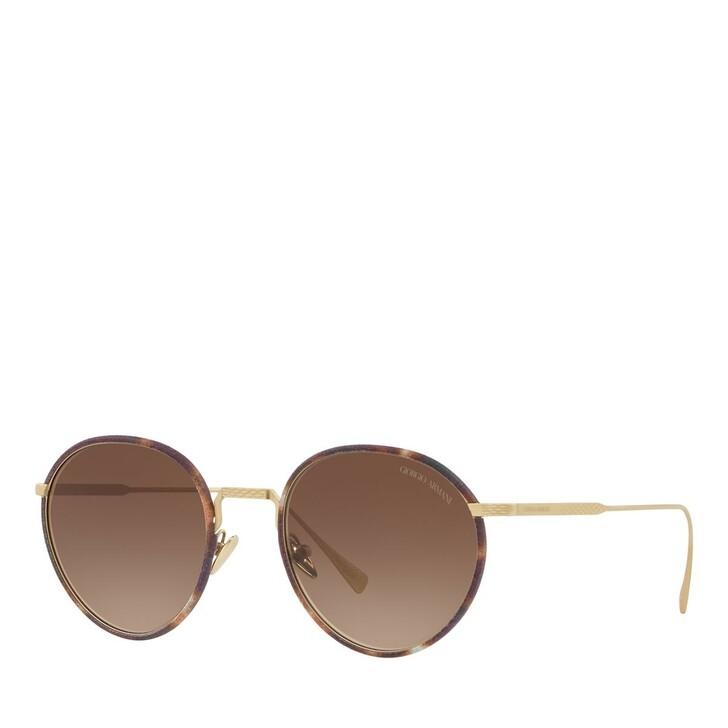 sunglasses, Giorgio Armani, 0AR6103J Matte Pale Gold