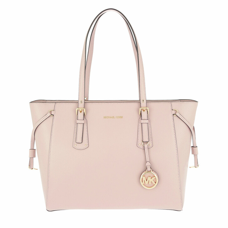 bags, MICHAEL Michael Kors, Medium Mf Tz Tote Soft Pink