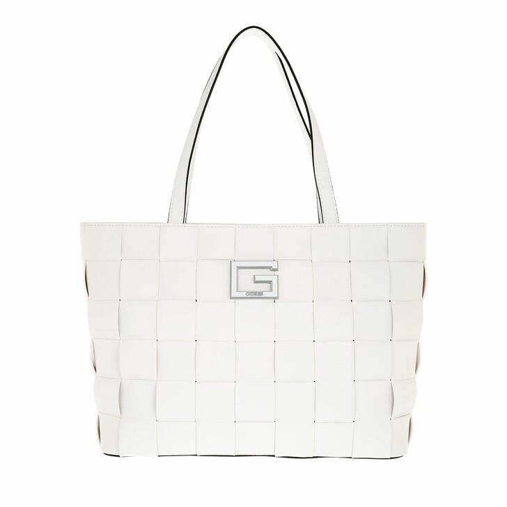 bags, Guess, Liberty City Tote White