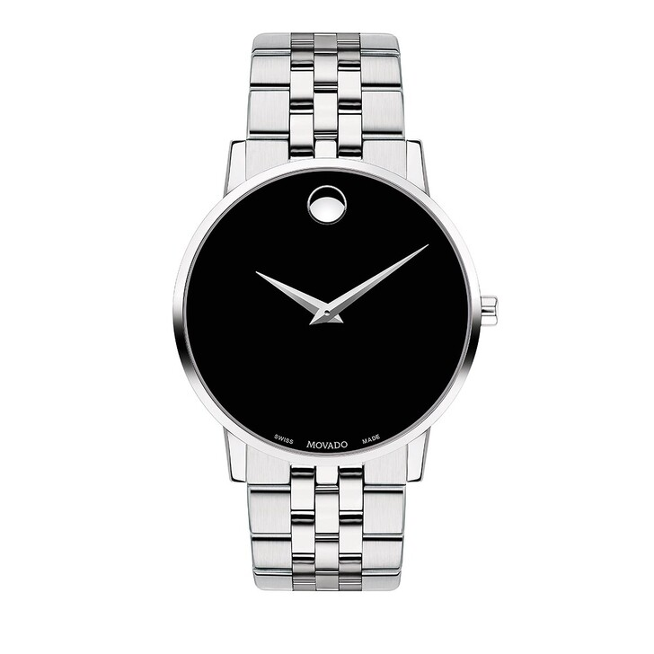 Uhr, Movado, Museum Classic Watch Silver