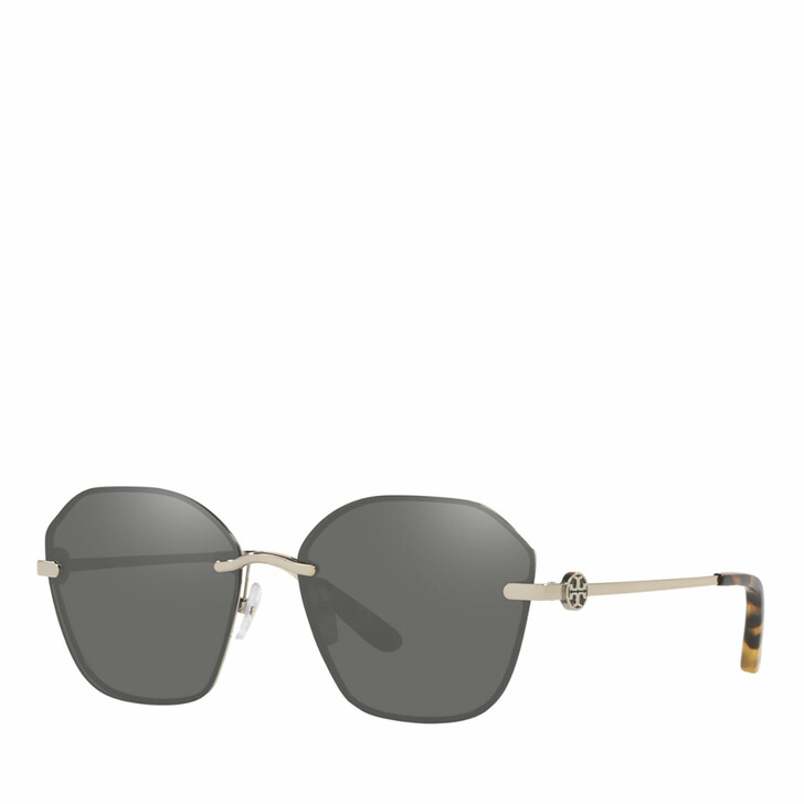 Sonnenbrille, Tory Burch, 0TY6081 SHINY GOLD METAL