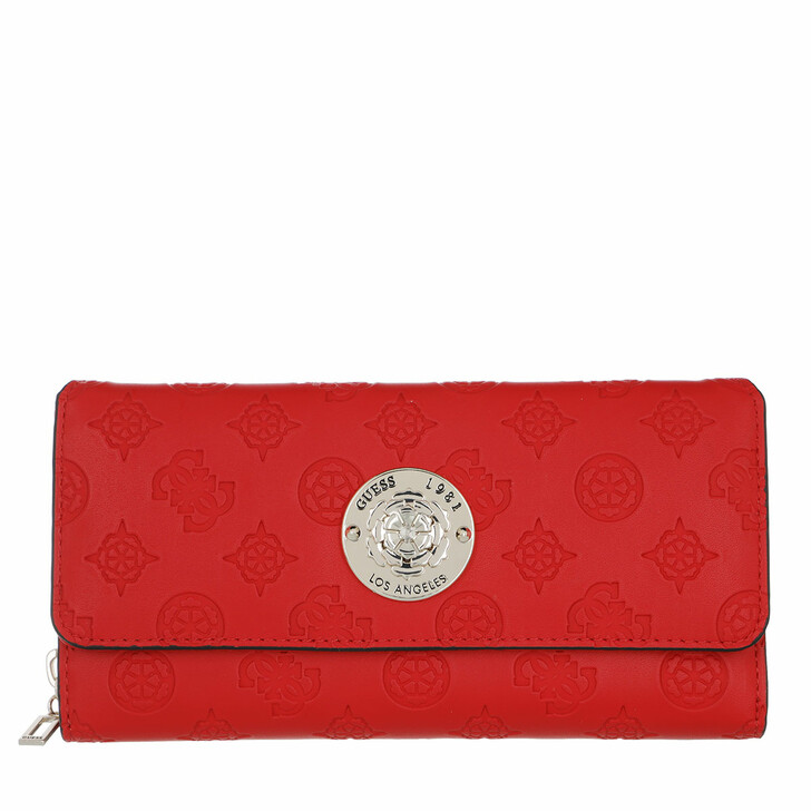 Geldbörse, Guess, Dayane Large Wallet Red