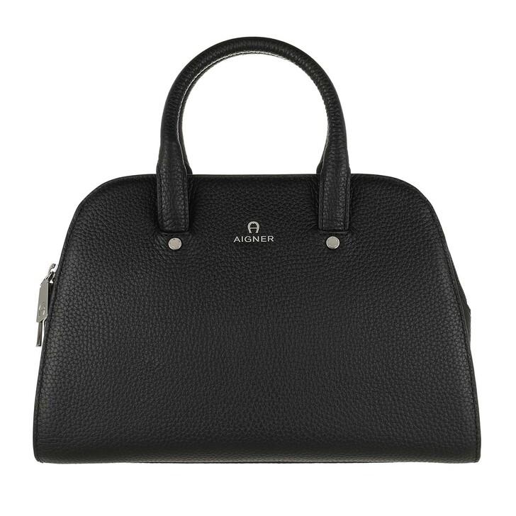 Handtasche, AIGNER, Ivy Handle Bag Black