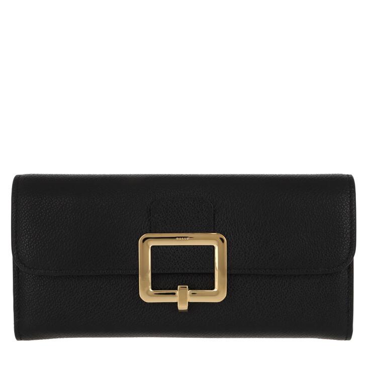 Handtasche, Bally, Jinney Pochette Black