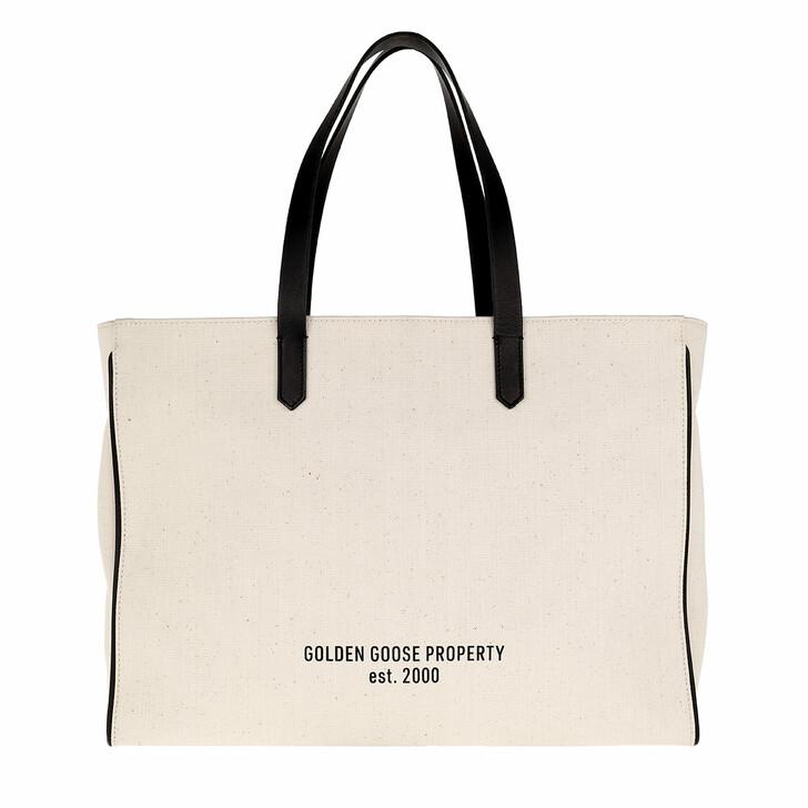 Handtasche, Golden Goose, East West California Bag Off White