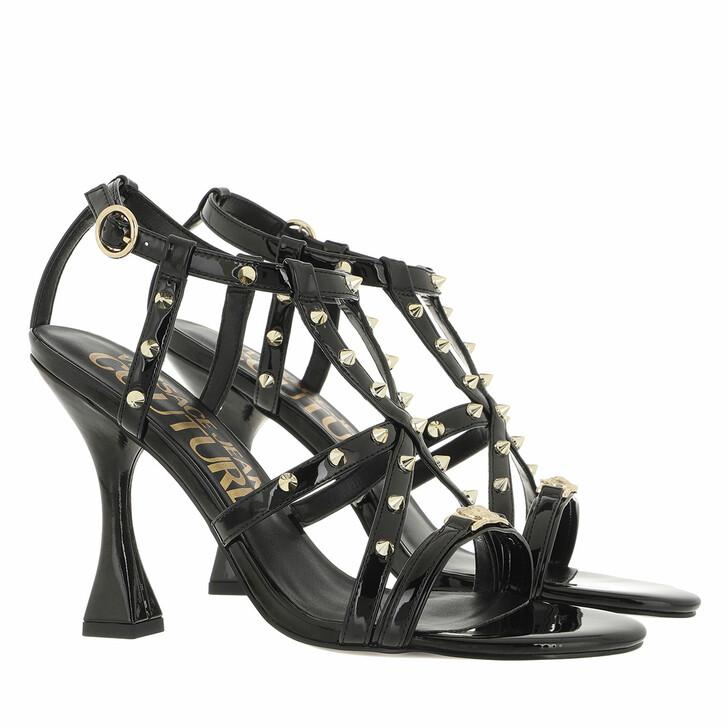 shoes, Versace Jeans Couture, Sandals Black