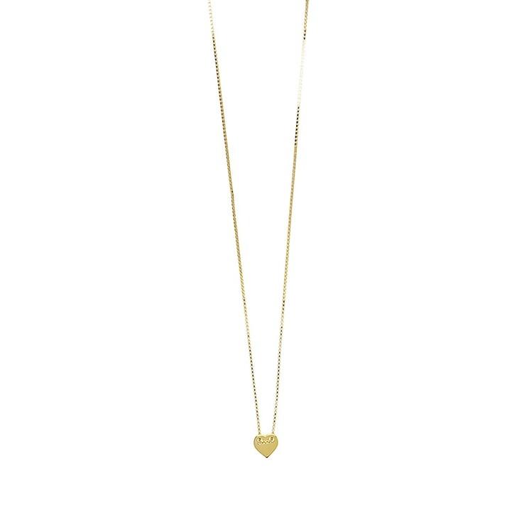 Kette, LOTT.gioielli, Necklace Heart S Gold