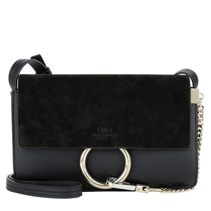Handtasche, Chloé, Faye Bag Tote Small Black