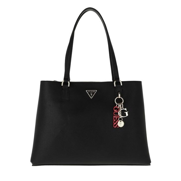 Handtasche, Guess, Becca Luxury Satchel Black