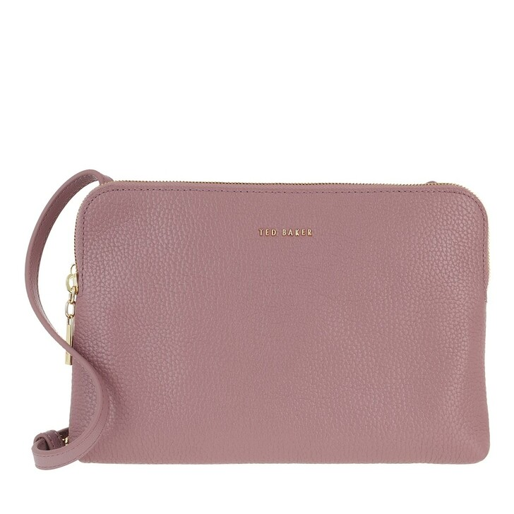 Handtasche, Ted Baker, Ciarraa Soft Leather Double Crossbody Pink