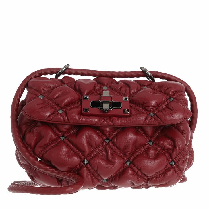 Handtasche, Valentino Garavani, Small Crossbody Bag Red