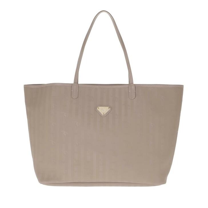 Handtasche, Maison Mollerus, Zuerich Shopping Bag Taupe/Gold