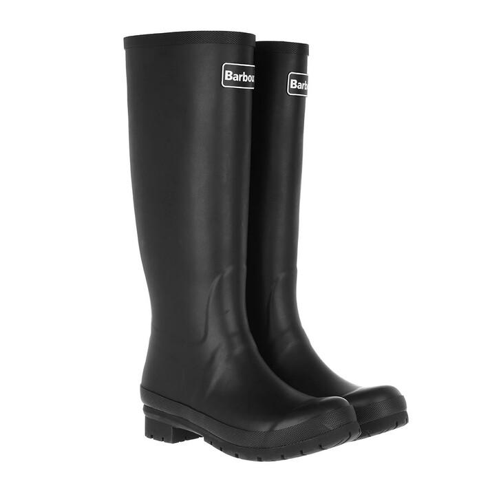 Schuh, Barbour, Abbey Boots Black