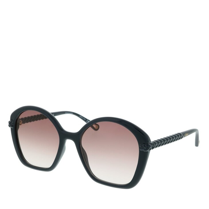Sonnenbrille, Chloé, Sunglass WOMAN BIO INJECT BLUE-BLUE-BROWN