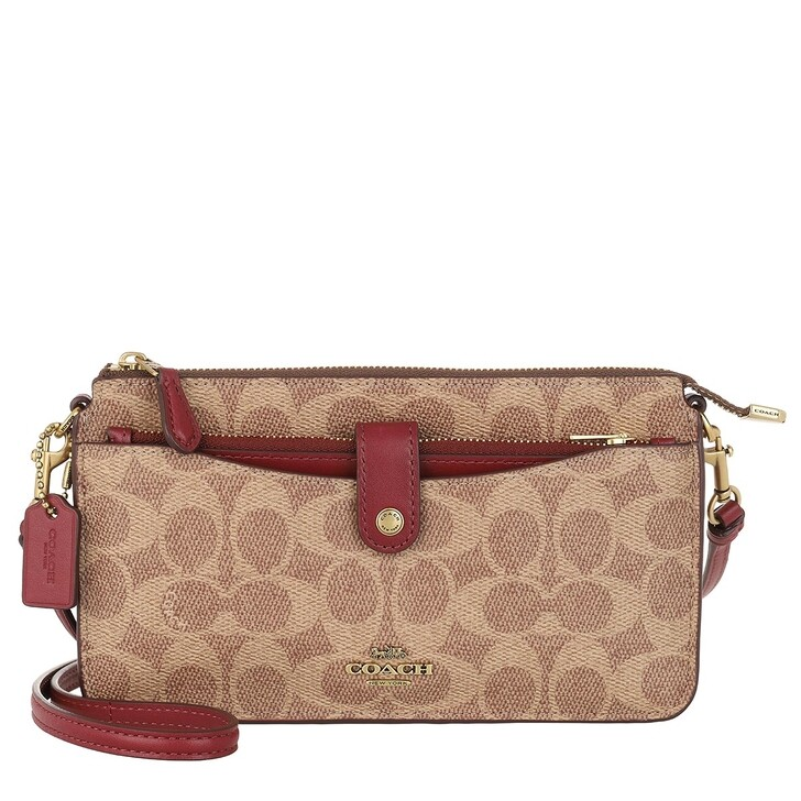 Handtasche, Coach, Womens SLGs Multifunctions  Red