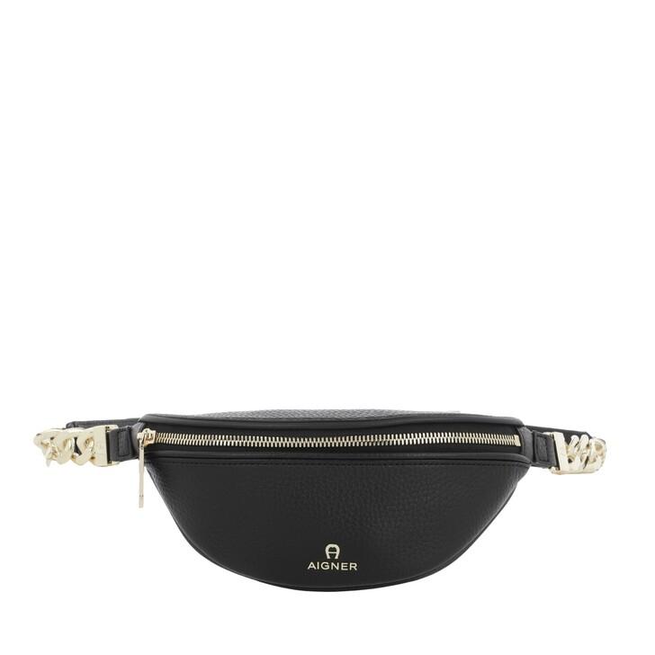 Gürteltasche, AIGNER, Fashion Beltbag Black