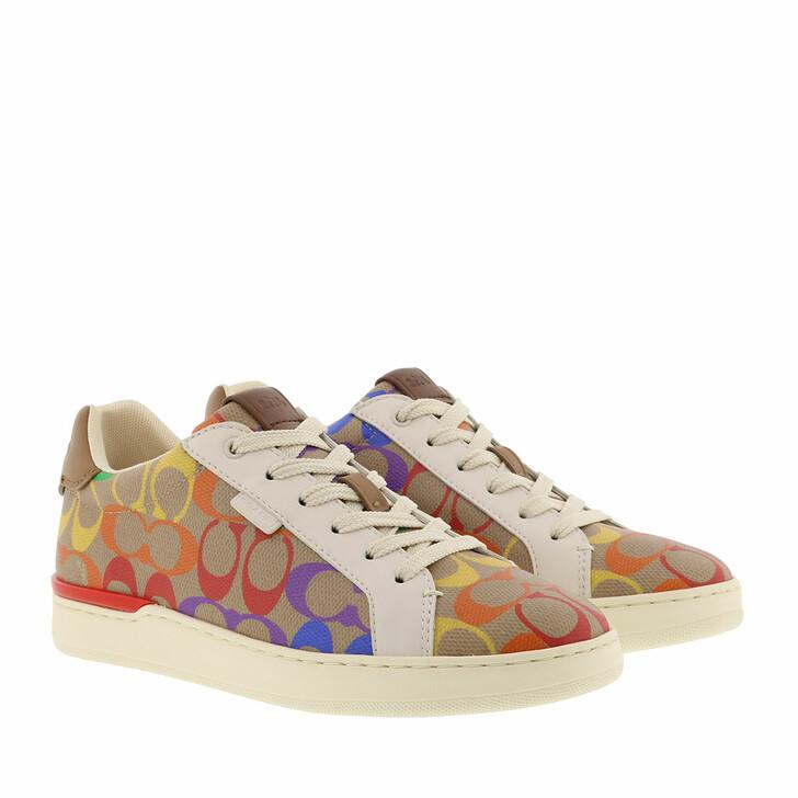 Schuh, Coach, Shoes Low Top Sneaker Tan Multi