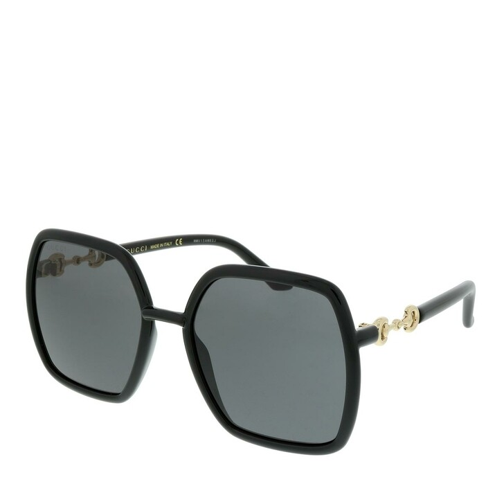 Sonnenbrille, Gucci, GG0890S-001 55 Sunglass WOMAN INJECTION BLACK