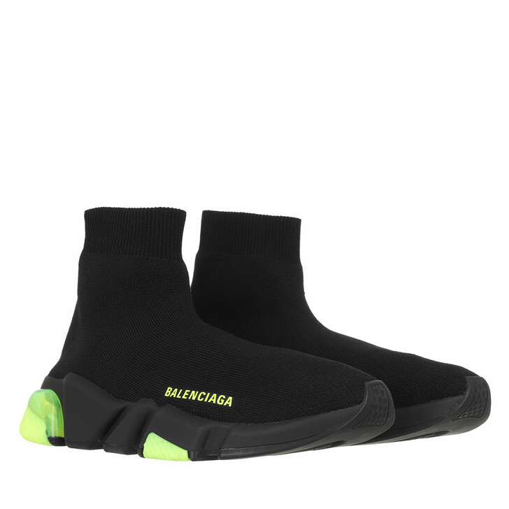 shoes, Balenciaga, Speed Sneakers Clearsole Black/Black