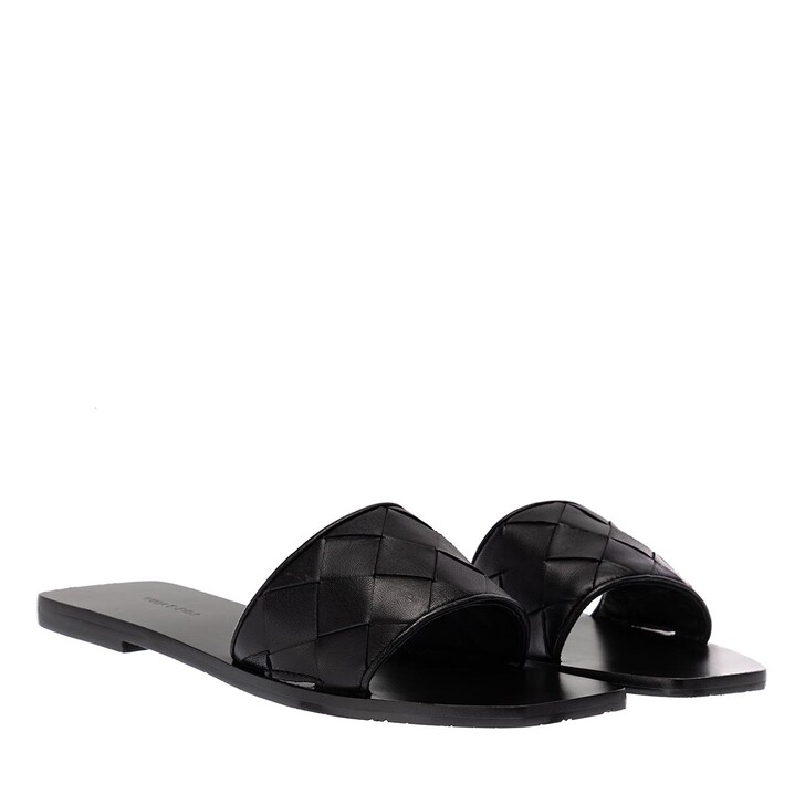 Schuh, What For, Samo Flats Soft Leather Black