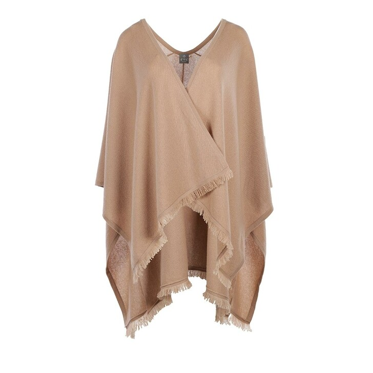 scarves, FTC Cashmere, Poncho RN Almond