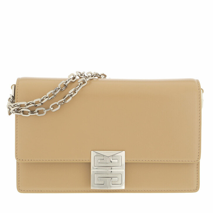 bags, Givenchy, Handbag Leather Beige Cappuccino