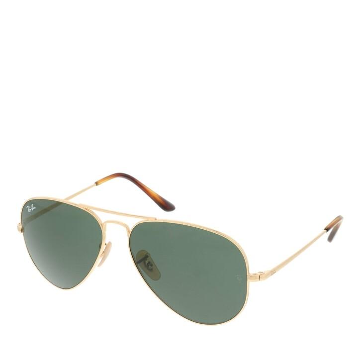 sunglasses, Ray-Ban, Aviator Metal II Gold
