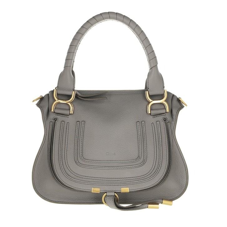 bags, Chloé, Small Marcie Shoulder Bag Cashmere Grey